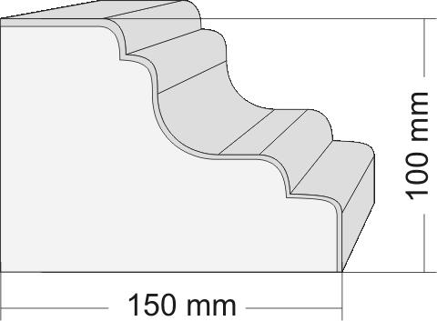 profil styropianowy